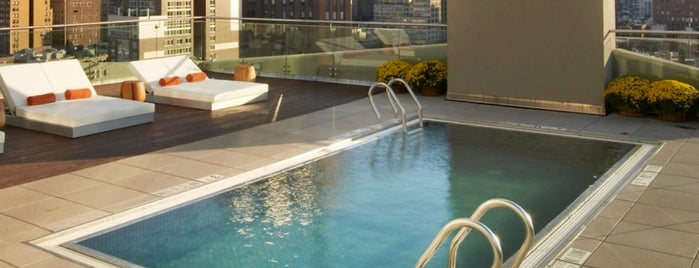 The James New York - SoHo is one of The Coolest Hotel Pools in NYC.