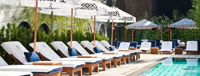 The Coolest Hotel Pools in NYC