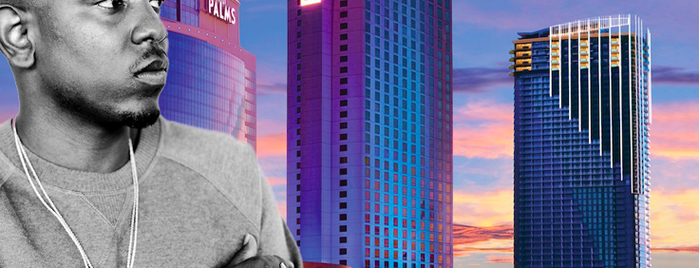 Palms Casino Resort is one of Hip Hop Hospitality: The Many Hotels of Rap Lyrics.