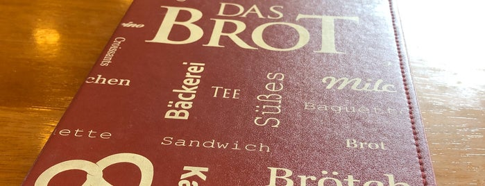 Das Brot is one of Restaurantes.