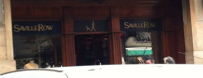 Saville Row is one of Lieux qui ont plu à Ely.