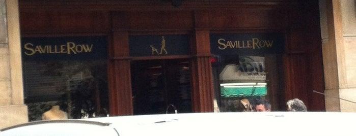 Saville Row is one of Tempat yang Disukai Ely.