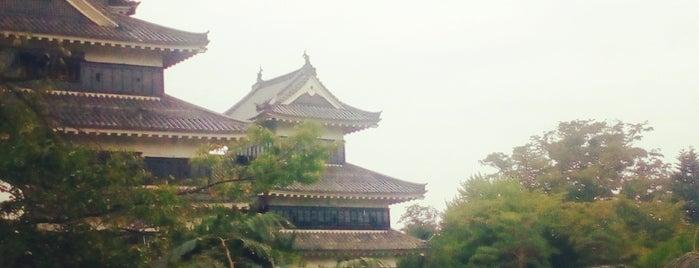 Matsumoto Castle is one of Tempat yang Disukai Hereza.