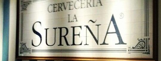 Cervecería La Sureña is one of Madrid.