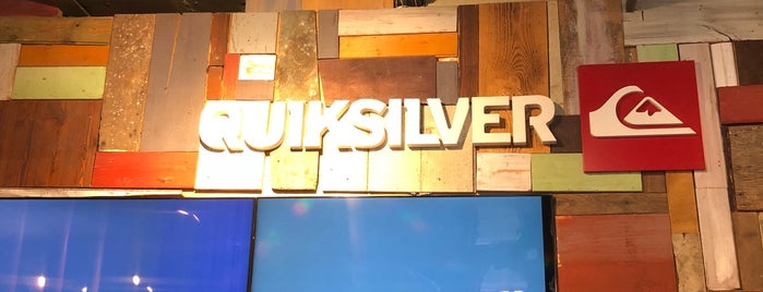 Quiksilver is one of Kevin : понравившиеся места.