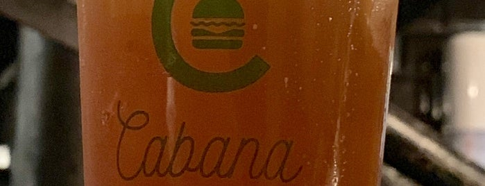Cabana Burger is one of Dicas.
