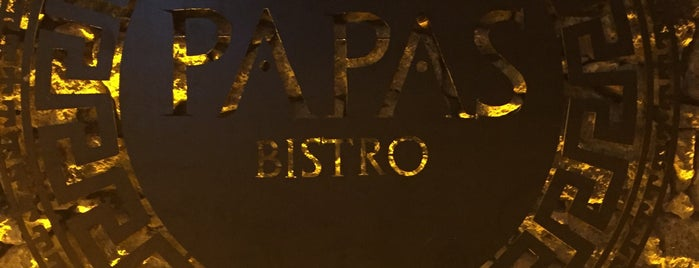 Papas Bistro is one of Locais salvos de Ali.