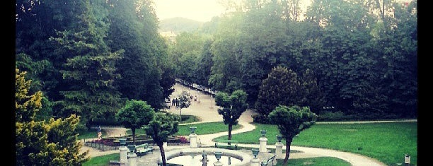 Park Tivoli is one of Slovenia.