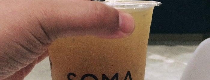 SOMA Tea & Mocktail is one of Posti che sono piaciuti a Jason.