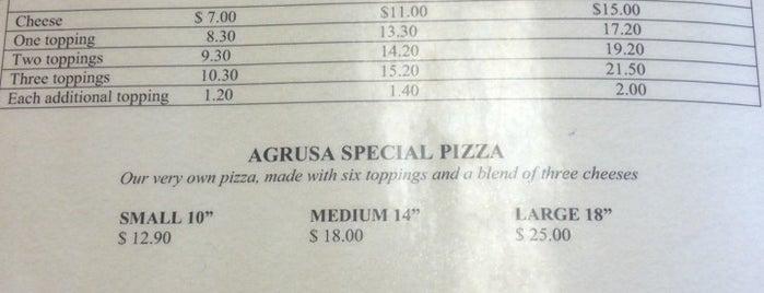 Agrusas Italian Restaurant is one of Lieux qui ont plu à Richard.