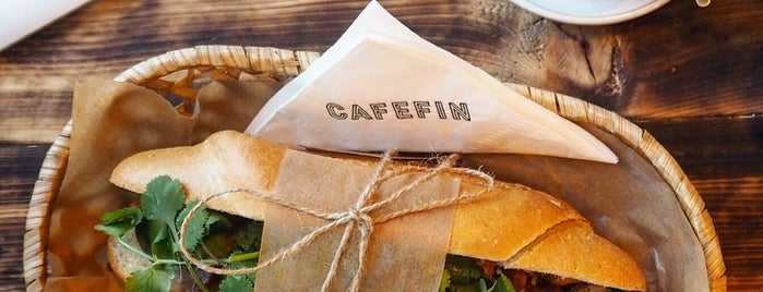 Cafefin is one of Prague Bistros & Food Spots.