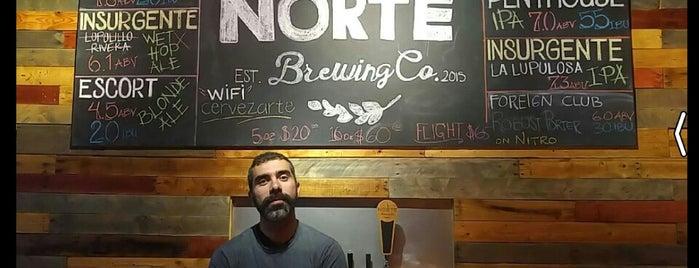 Norte Brewing Co. is one of Aquí se hace Cerveza..