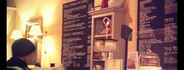 The Victorian House Brown's Tea Bar is one of Kaffee/Kuchen - Barometer 2014.