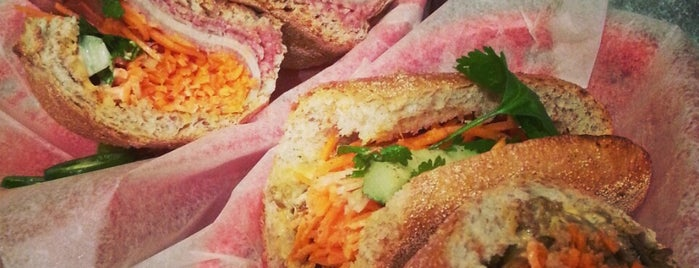 Xe Máy Sandwich Shop is one of 2014 Choice Eats Restaurants.