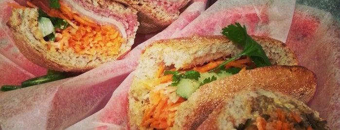 Xe Máy Sandwich Shop is one of 2014 Choice Eats Restaurants.