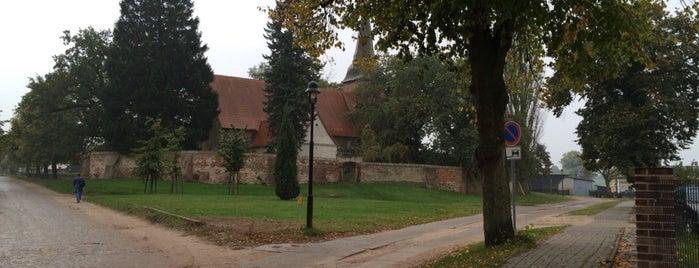 Kirche Mellenthin is one of Orte, die Babbo gefallen.