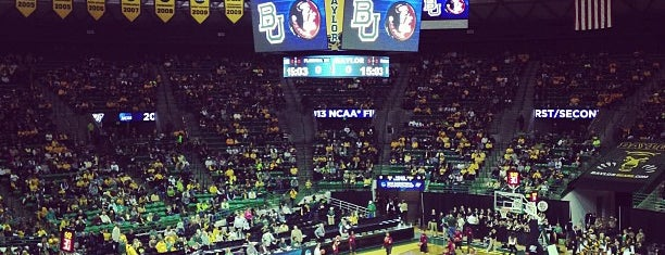 Ferrell Center is one of Zzz....