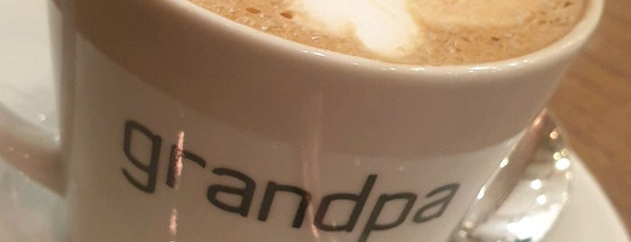 Grandpa Coffee & Eatery is one of Istanbul.