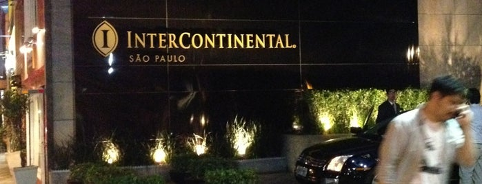 InterContinental São Paulo is one of Lieux qui ont plu à Camila.
