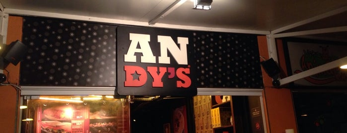 ANDY'S is one of When in Rio.