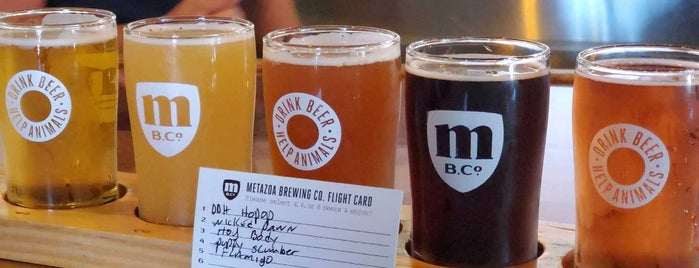 Metazoa Brewing Company is one of Indy.