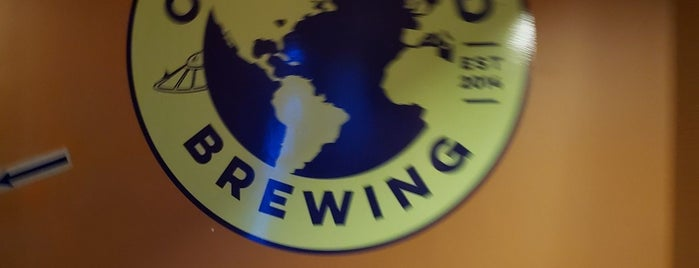 One World Brewing is one of Anthonyさんのお気に入りスポット.