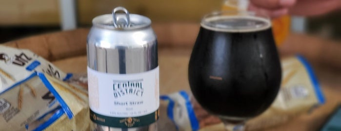 Central District Brewing is one of Breweries I've been to..