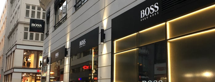 Hugo Boss is one of DKさんのお気に入りスポット.