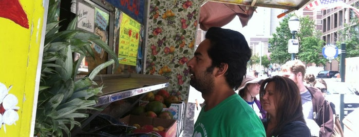 Fresh Fruit Cart is one of philly favs.