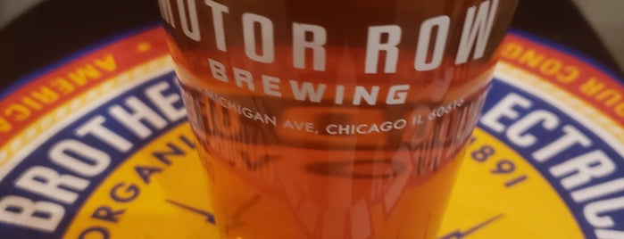 Motor Row Brewing is one of Chi To-Dos.