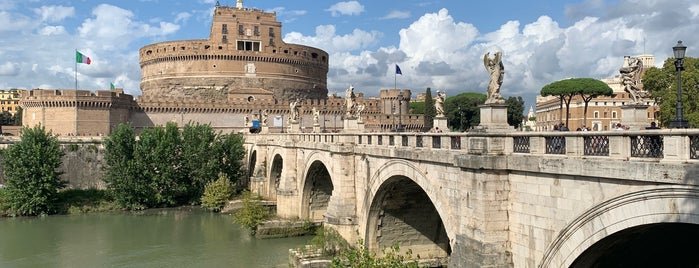 Castel Sant' Angelo is one of Rome.