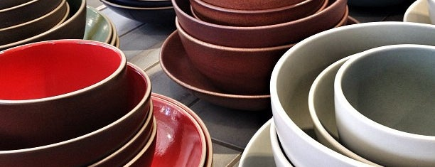 Heath Ceramics is one of Potrero Hill/East Mission Stuffz.