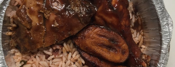 Taylormade jamaican eatery is one of NY Food.