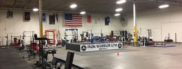 Iron Warrior Gym is one of Denver.