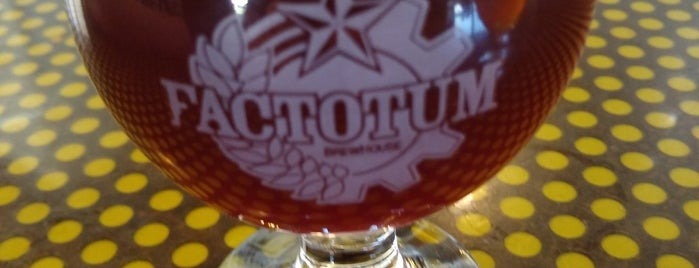 Factotum Brewhouse is one of Danielle 님이 저장한 장소.