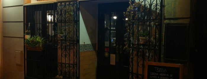 Restaurante Triana is one of Madrid Salamanca/East Of Retiro.