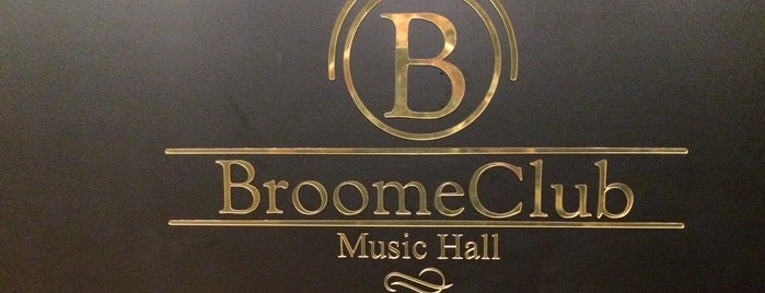 Broome Club Music Hall is one of Lieux qui ont plu à Rodrigo.