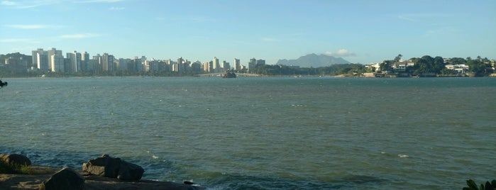 Pedra da Ilha do Boi is one of Tempat yang Disukai Wesley.