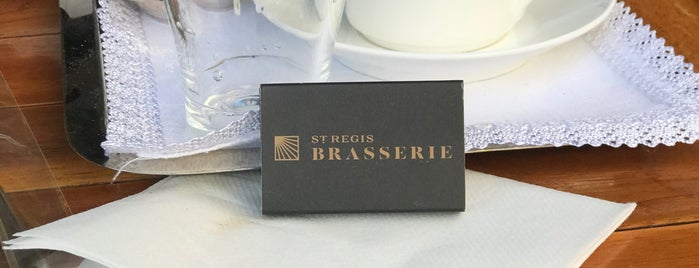 St. Regis Brasserie is one of Istanbul.