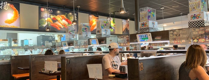 Kura Revolving Sushi Bar is one of Need to check out.