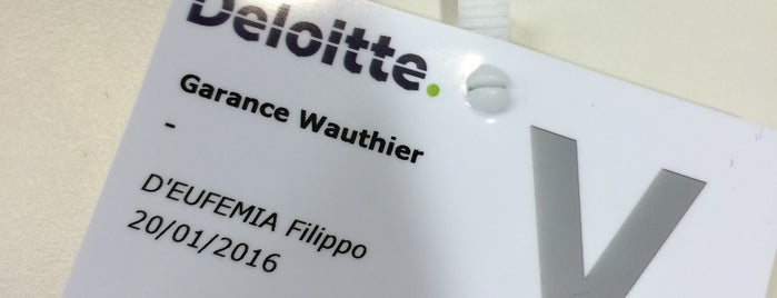Deloitte Luxembourg is one of Deloitte offices of the world!.