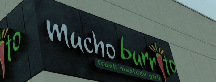 Mucho Burrito Fresh Mexican Grill is one of Denis's Liked Places.