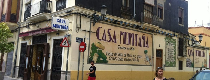 Casa Montaña is one of Valencia Tapas Bar.