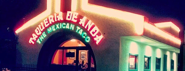 Taqueria de Anda is one of SoCal Favorites.