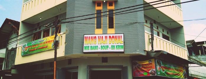 Mang Haji Donal Resto is one of Marcella'nın Kaydettiği Mekanlar.