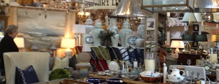 English Country Antiques and Home Furnishings is one of The Hamptons.