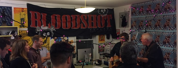 Bloodshot Records is one of Chicago Sight-Seeing.