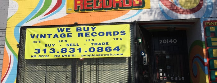 People's Records North is one of Detroit Record Stores.
