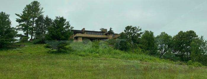 Taliesin is one of Frank Lloyd Wright.