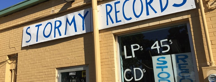 Stormy Records is one of Detroit Record Stores.